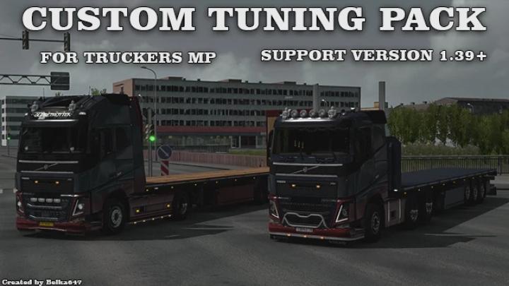 ETS2 - Custom Tuning Pack TruckersMP V1.0 (1.40.x)