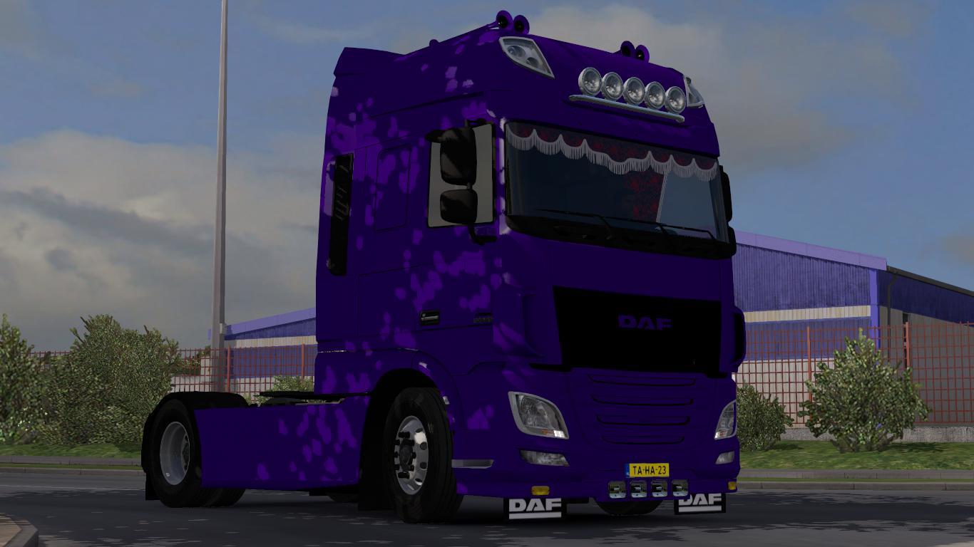 ETS2 - Daf Xf Euro 6 Simple Truck (1.36.x)