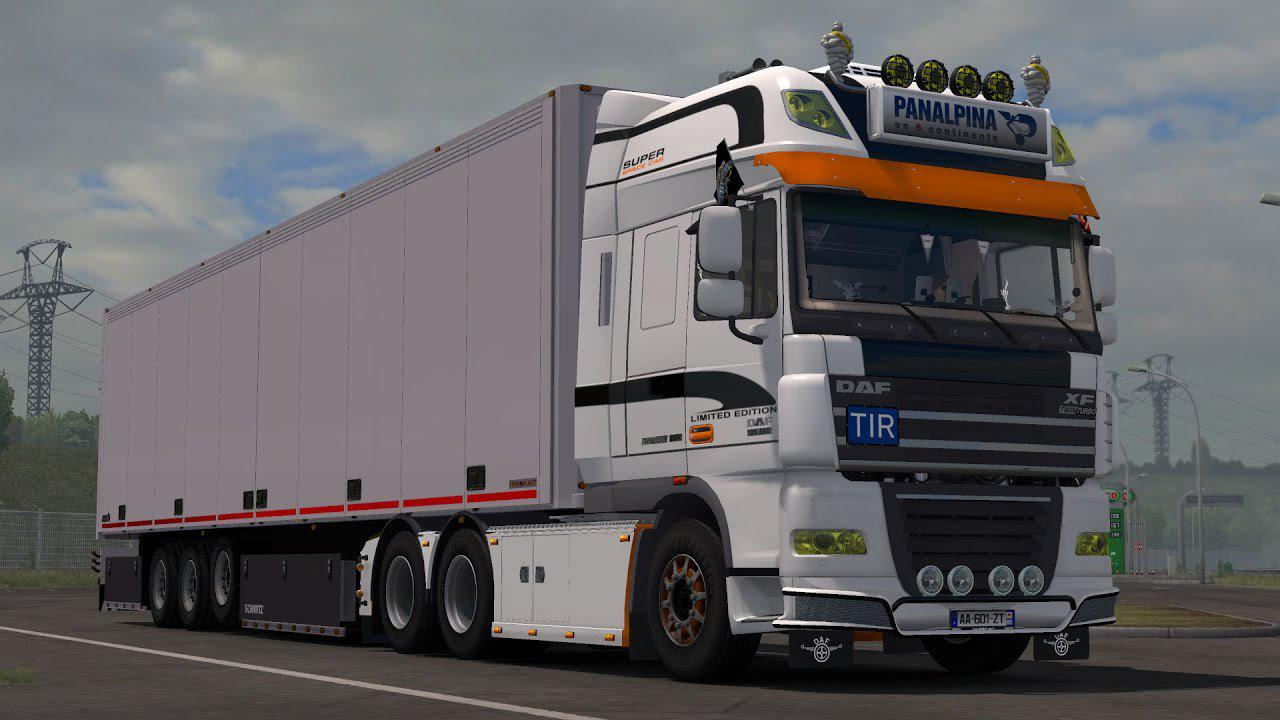 ETS2 - Daf Xf 105 Stock Sound V2.2 (1.35.x)