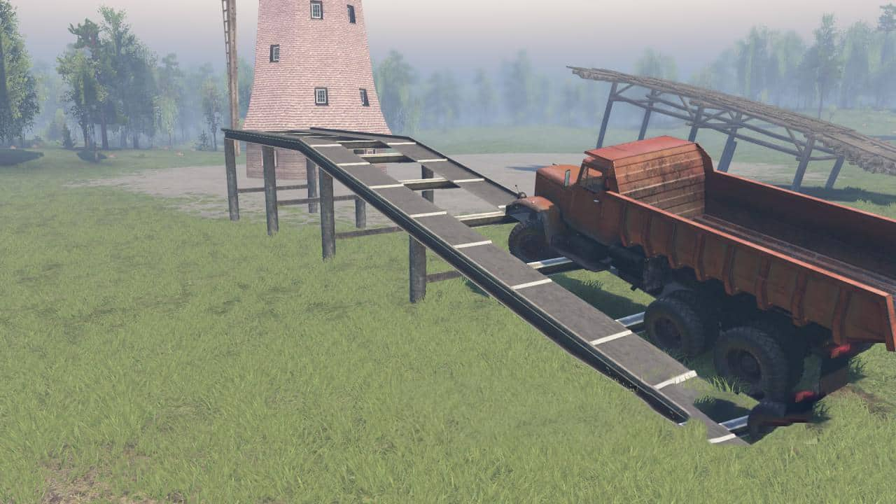 Spintires - Trestle for Editor V1