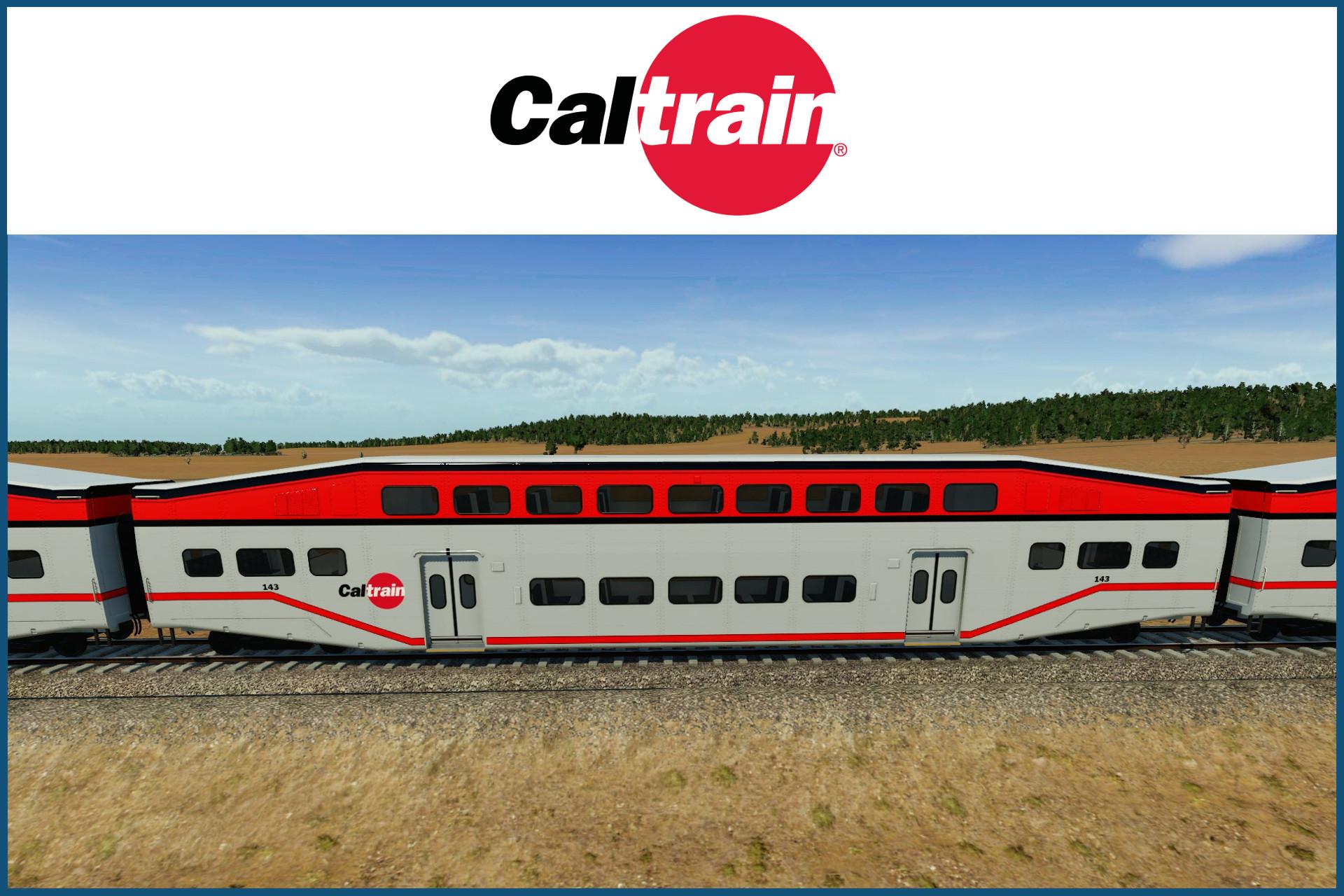Transport Fever 2 - Caltrain Bombardier Bi-Level Coach