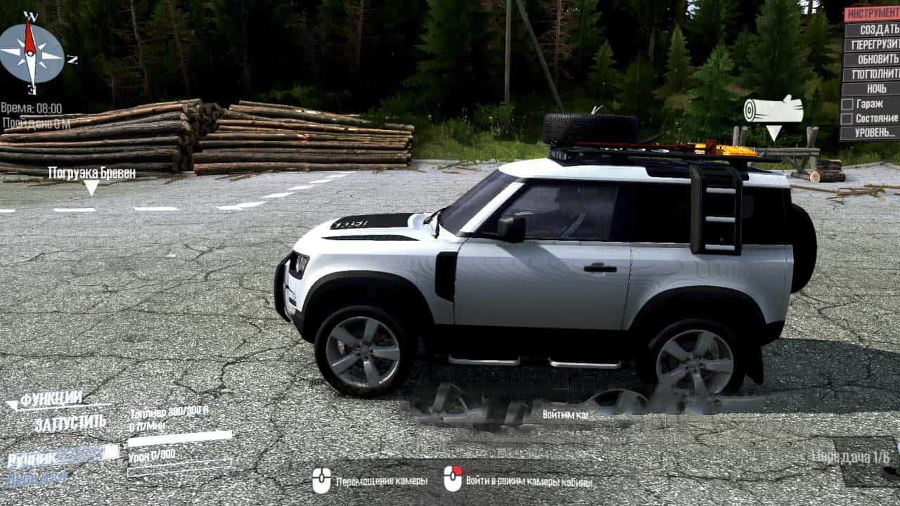 Spintires:Mudrunner - Land Rover Defender V2.0