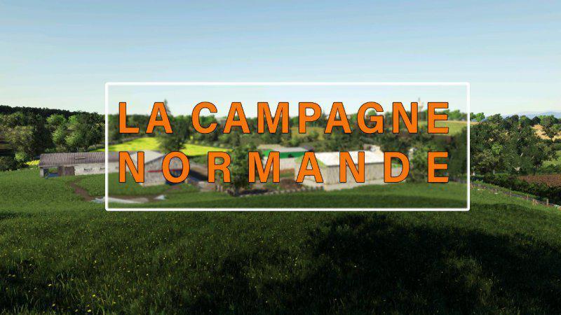FS19 - La Compagne Normande Map V1.0