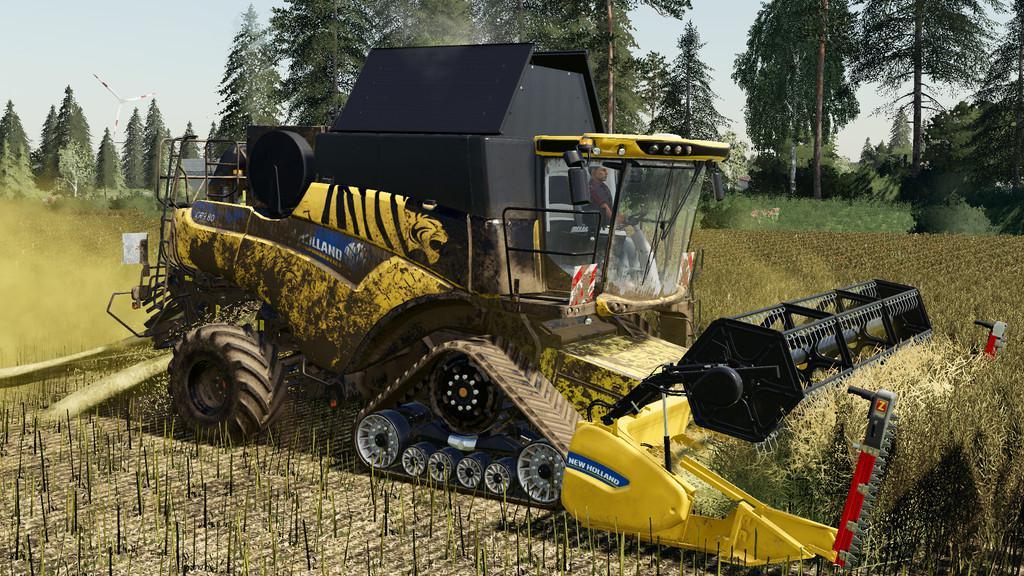 FS19 - New Holland CR 6.90 Harvester V1.0