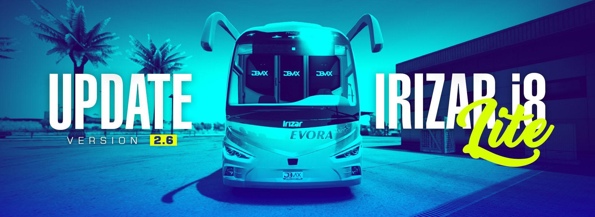 ETS2 - Irizar I8 Bus Mod V2.6 (1.39.x)