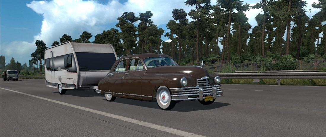 ETS2 - Packard Eight 1948 (1.36.X)