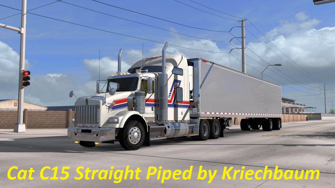 ATS - CAT C15 Straight Piped Sound V1.0 (1.35.X)