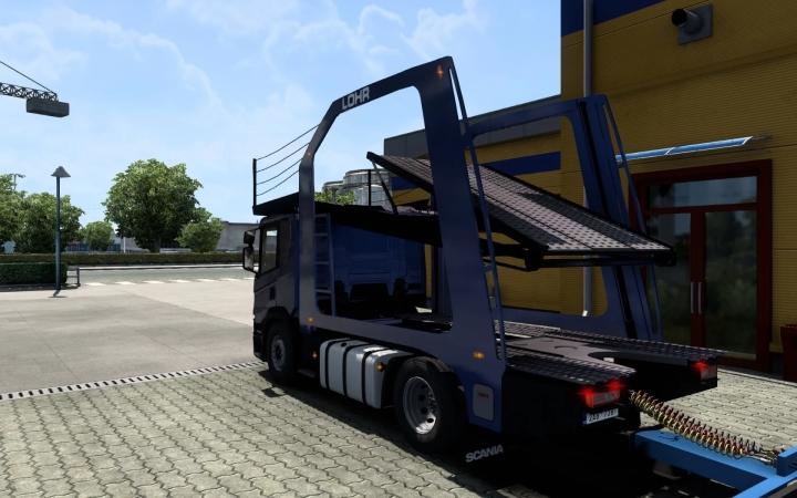 ETS2 - Scania NextGen Scania P (1.40.1)