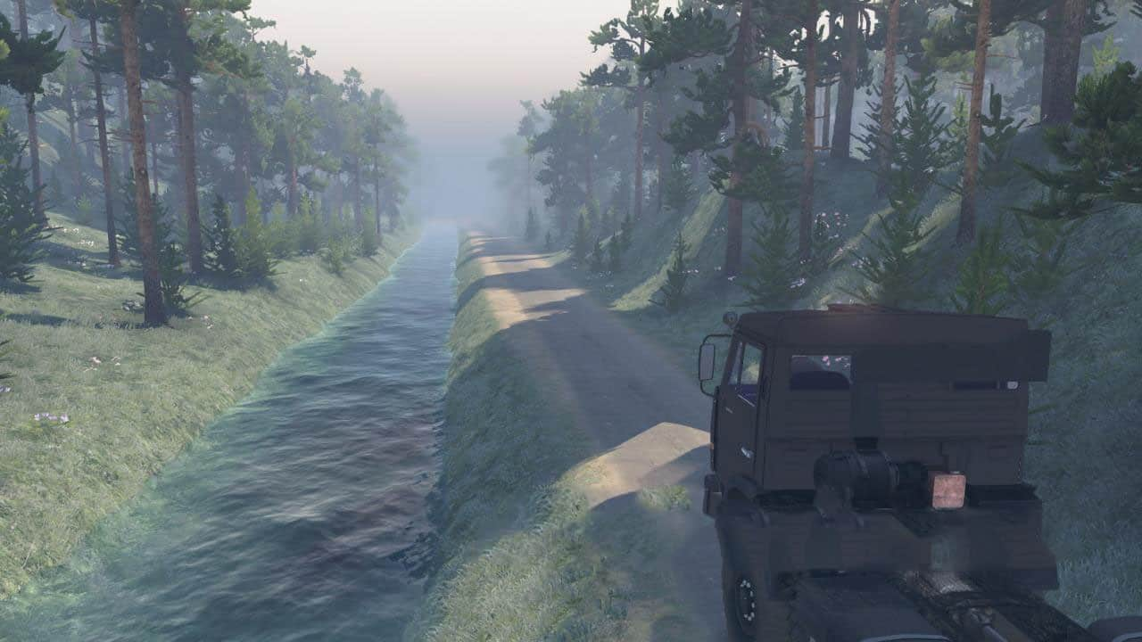 Spintires - On The Hour Map V1.0