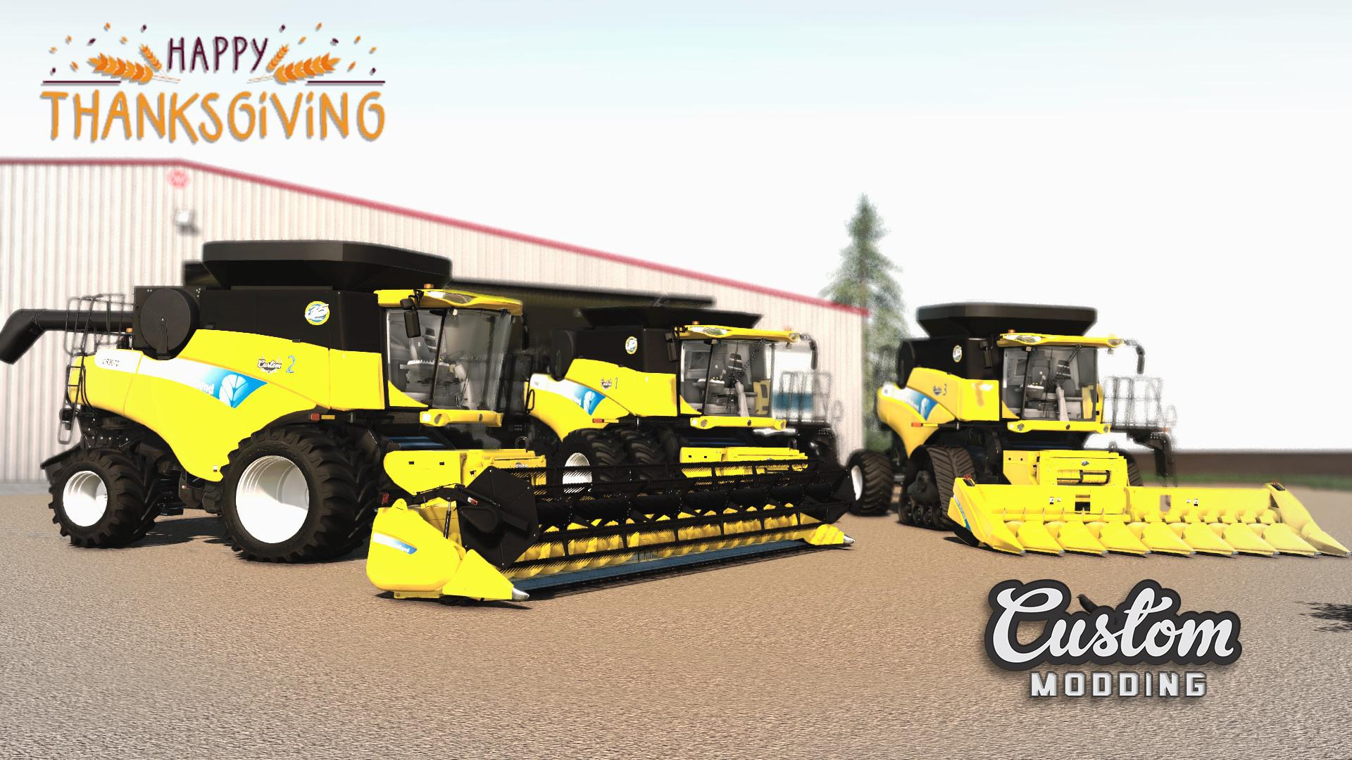 FS19 - New Holland CR9000 Harvester Mod V1.0