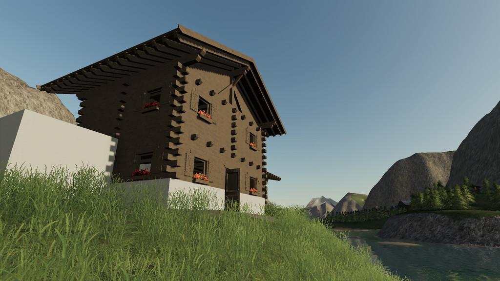FS19 - Tyrolean Farmhouse V1.0