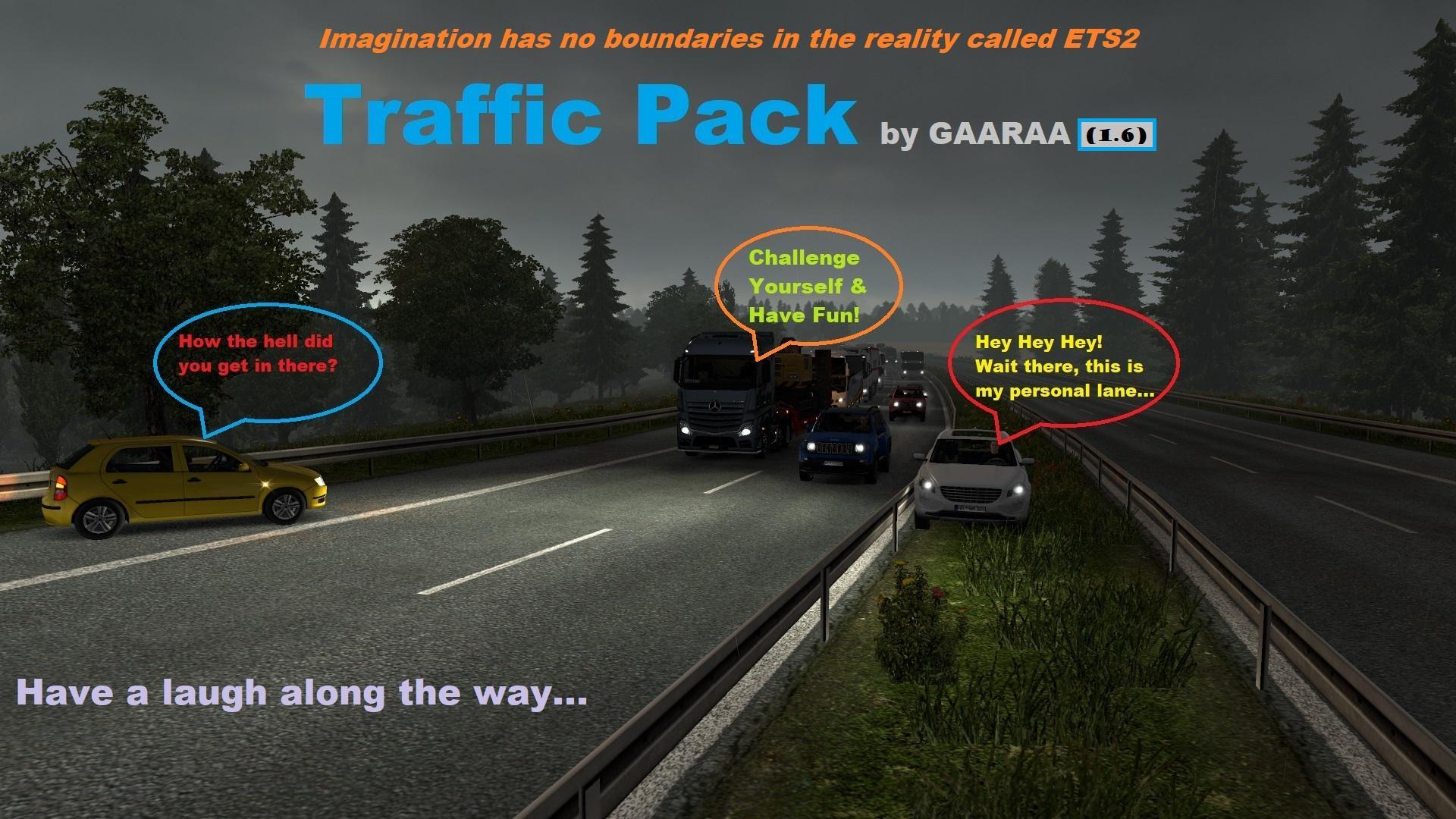 ETS2 - Traffic Pack V1.6 (1.37.x)