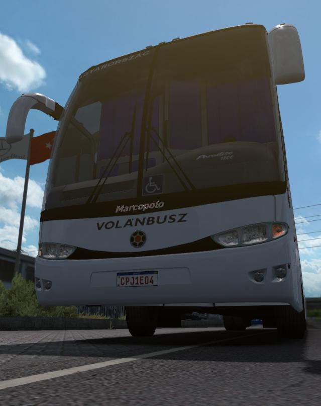 ETS2 - Marcopolo G6 Volanbusz (1.36.x)