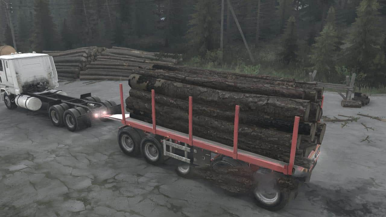 Spintires:Mudrunner - Trailers Pack from SnowRunner V22.08.20