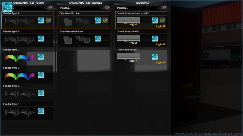 ETS2 - Tuning Pack SCS Trailer V1.5 (1.36.x)
