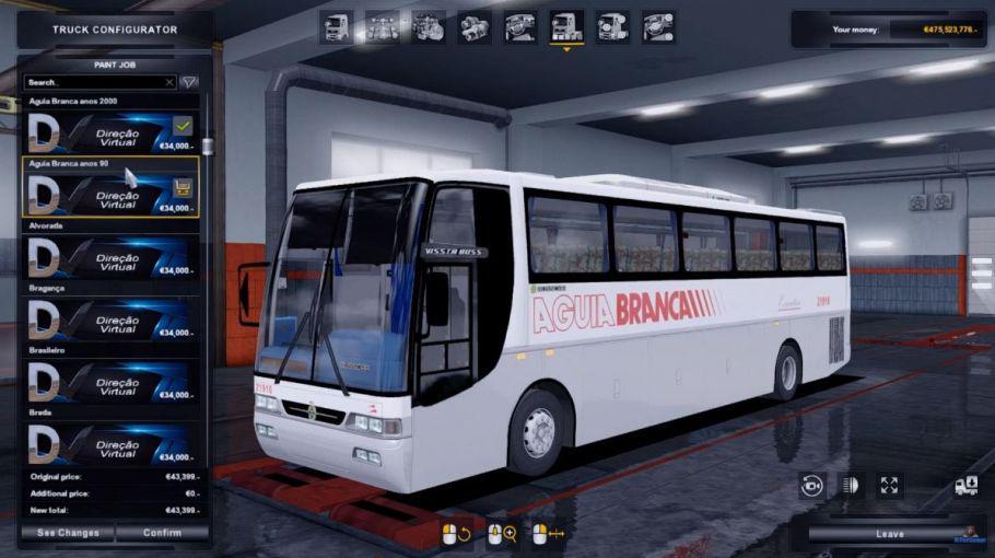ETS2 - Busscar Vissta Bus 1999 4x2 (1.37 - 1.38)