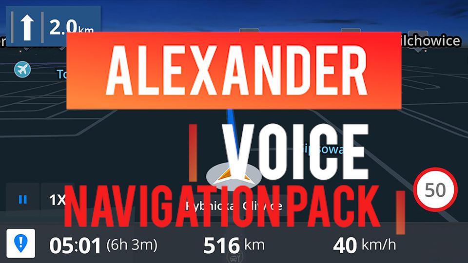 ETS2 - Alexander Voice Navigation Pack V1 (1.37.x)