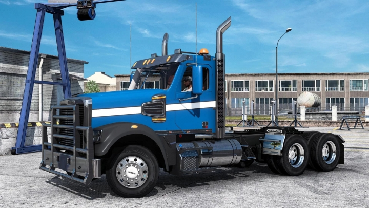 ATS - Freightliner Coronado 132SD/122SD Truck V1.2 (1.40.x)