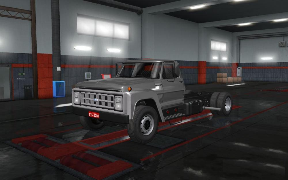 ETS2 - Ford F14000 (1.35.x)