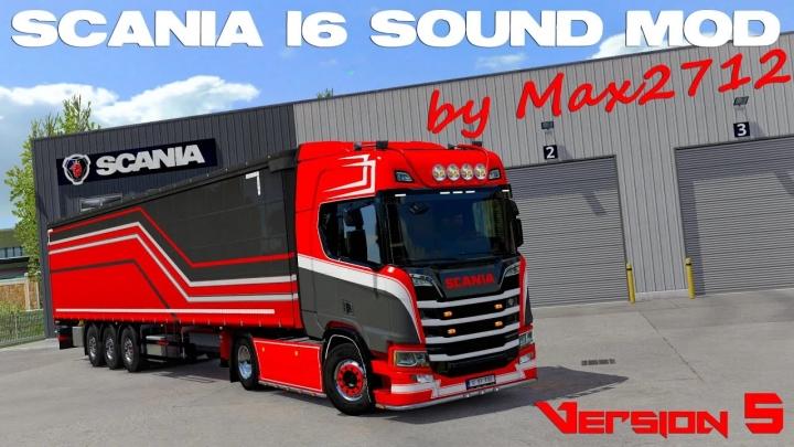 ETS2 - Scania Nextgen I6 Sound V5.0 (1.41.x)