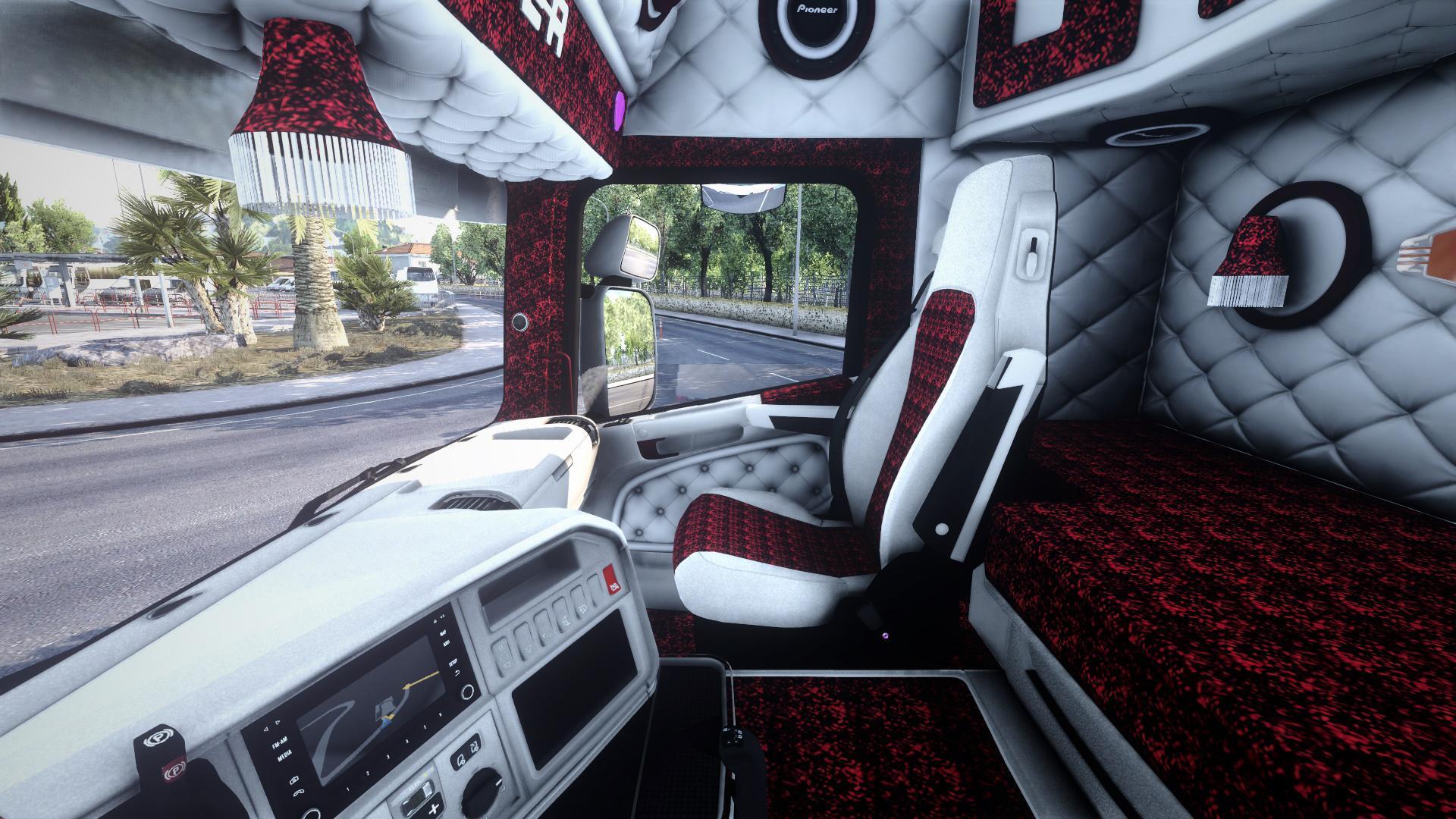 ETS2 - Scania RJL White Holland Interior (1.40.x)