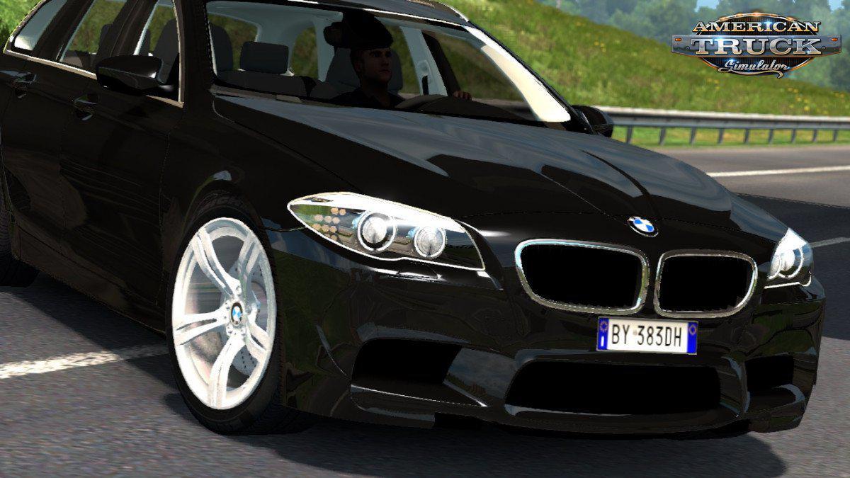 ATS - BMW M5 Touring + Interior (1.35.x)