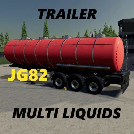 FS19 - Multi Liquid Trailer V1.0