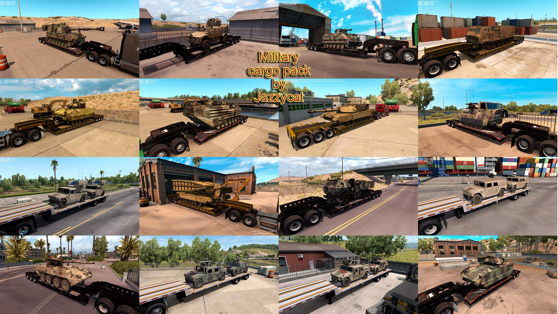 ATS - Military Cargo Pack V1.3.3 (1.39.x)