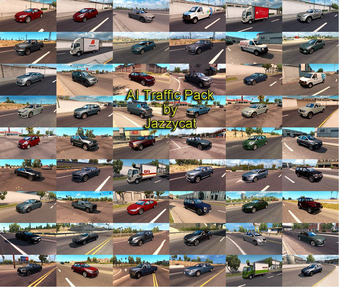 ATS - AI Traffic Pack V7.4 (1.36.X)