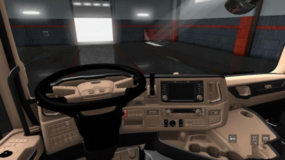 ETS2 - Scania R-S NG Lux Interior (1.36.x)