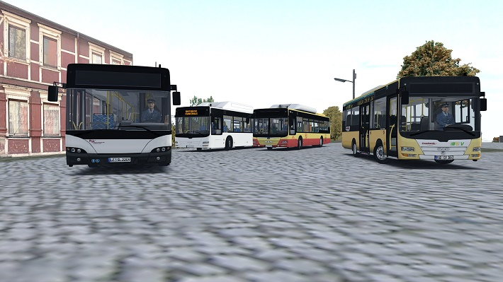 Omsi 2 – Man Bus Pack 1.2