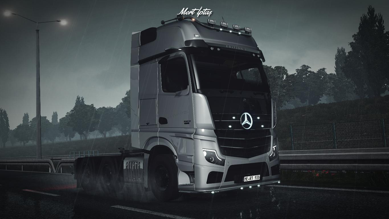 ETS2 - Mercedes-Benz Actros MP5 2020 (1.37.x)