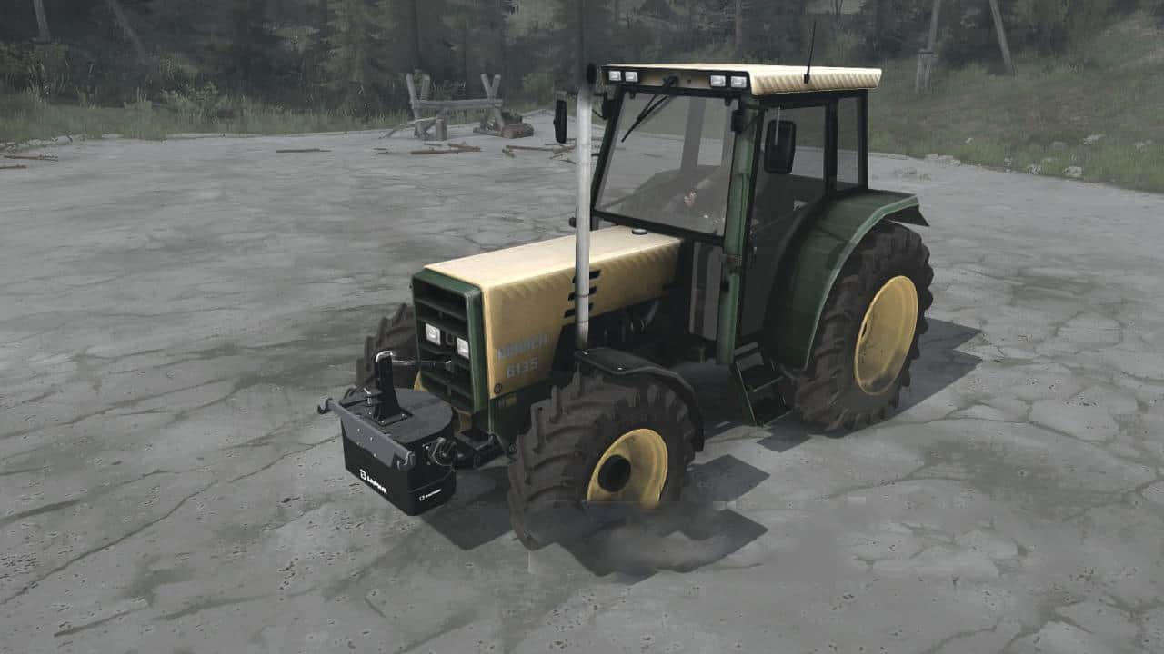 Spintires:Mudrunner - Buhrer M6135A Tractor V1.0