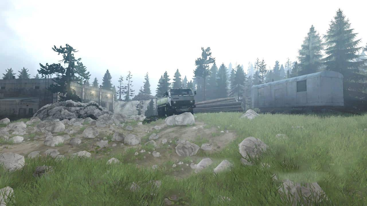 Spintires:Mudrunner - After A Hard Path 6 End Map V03/29/19