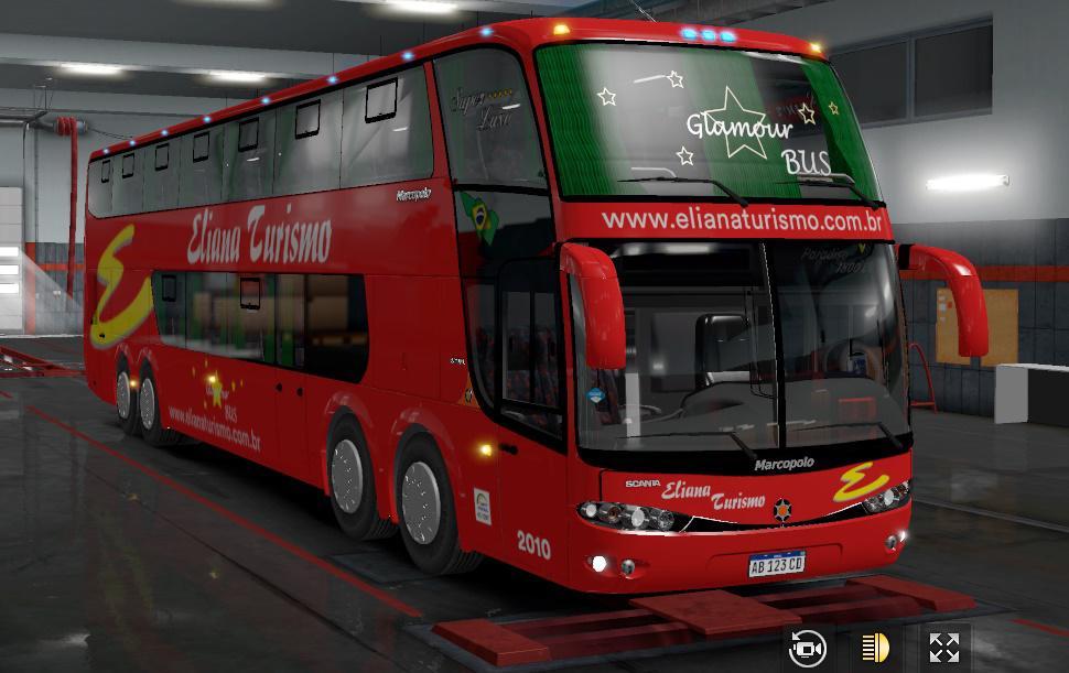 ETS2 - Marcopolo Paradiso G6 DD 8x2 Bus V4.0 (1.36.x)