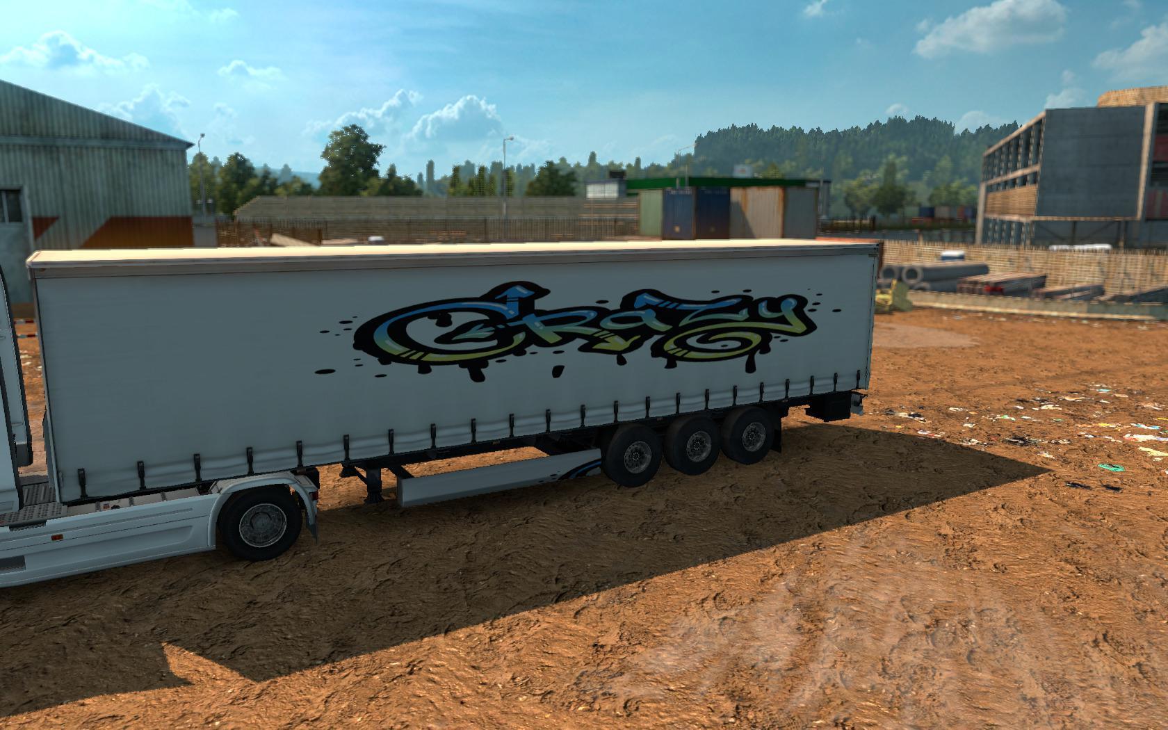 ETS2 - Graffiti 2 Skin V1.1 (1.36.x)