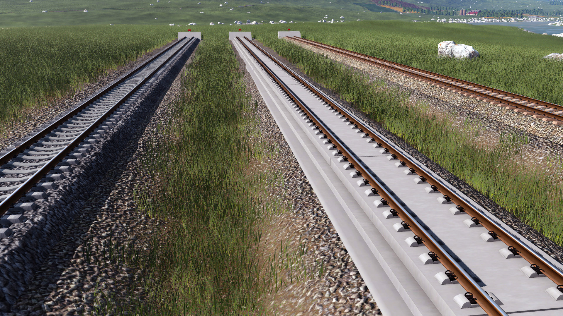Transport Fever 2 - China Track with Catenary Basic Pack