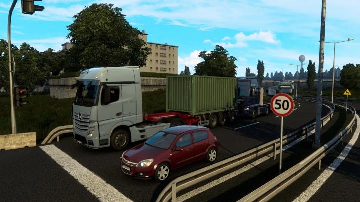 ETS2 - Traffic Rework (1.40.x)