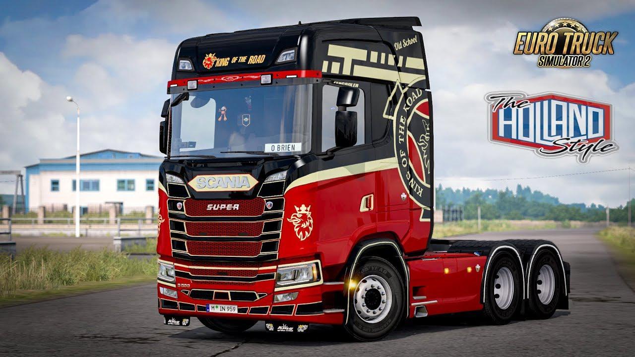 ETS2 - Scania Next Gen S Skin Pack V1.0 (1.36.x)