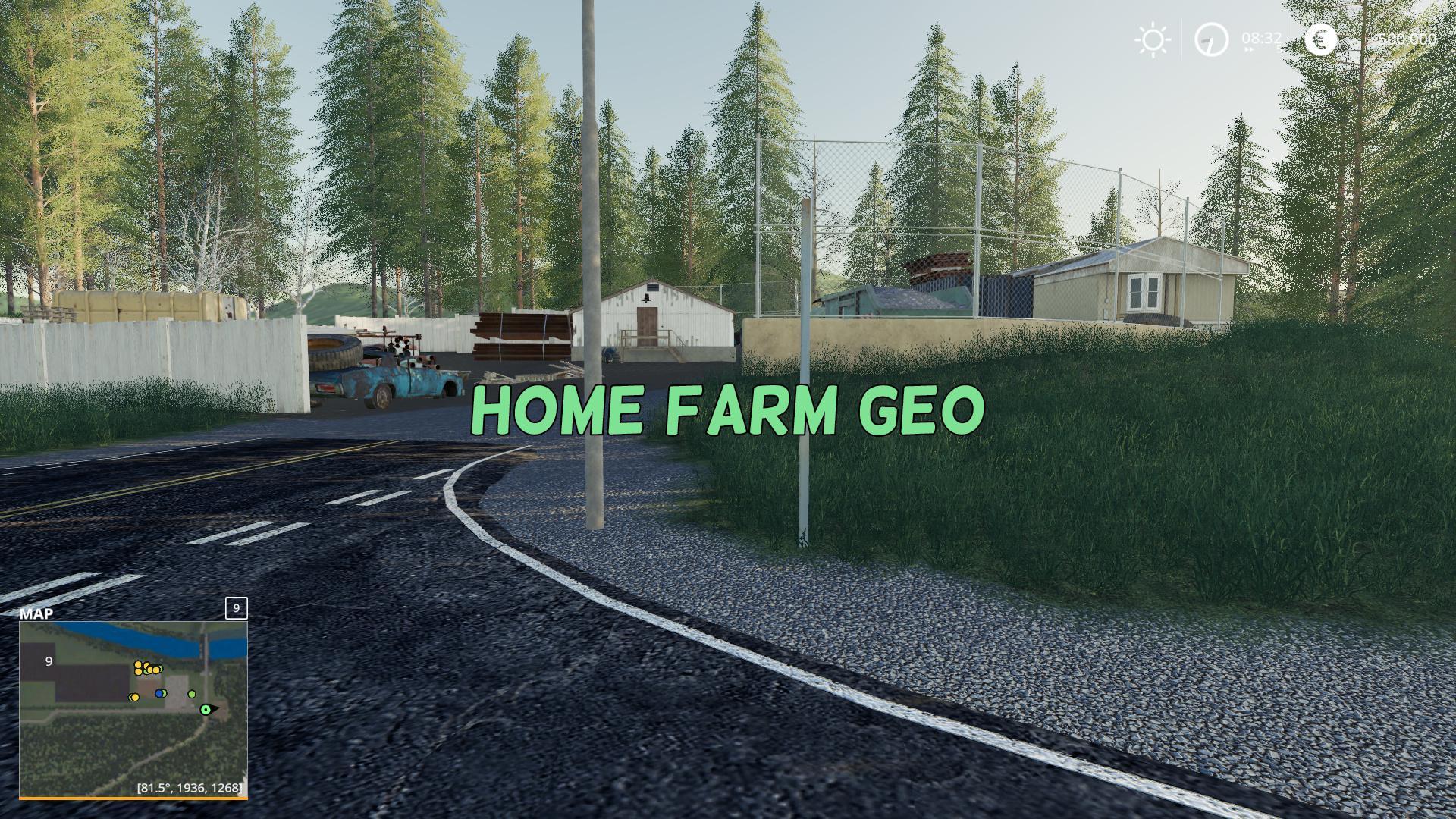 FS19 - Home Farm Geo V1.0