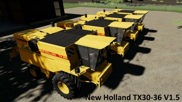 FS19 - New Holland Update Tx30-36 V1.5