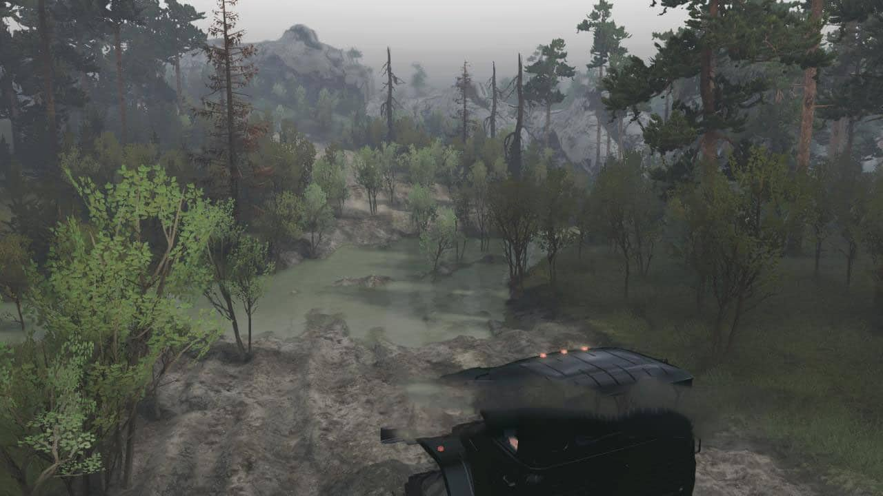 Spintires - Trophy Raid Map V1.0