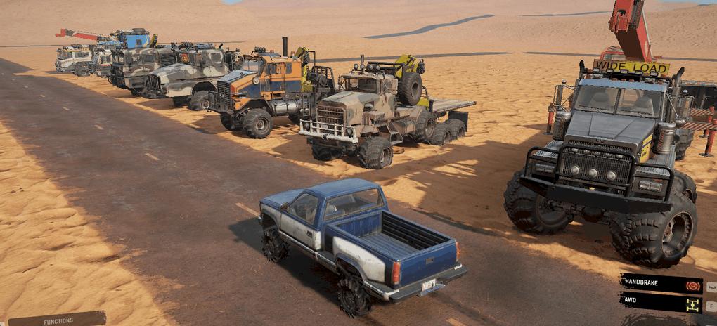 SnowRunner - Max Pack Trucks V0.1