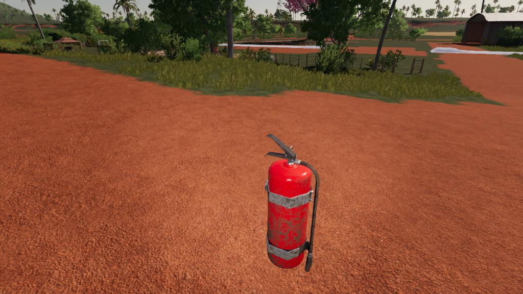 FS19 - Fire Extinguisher (Prefab) V1.0