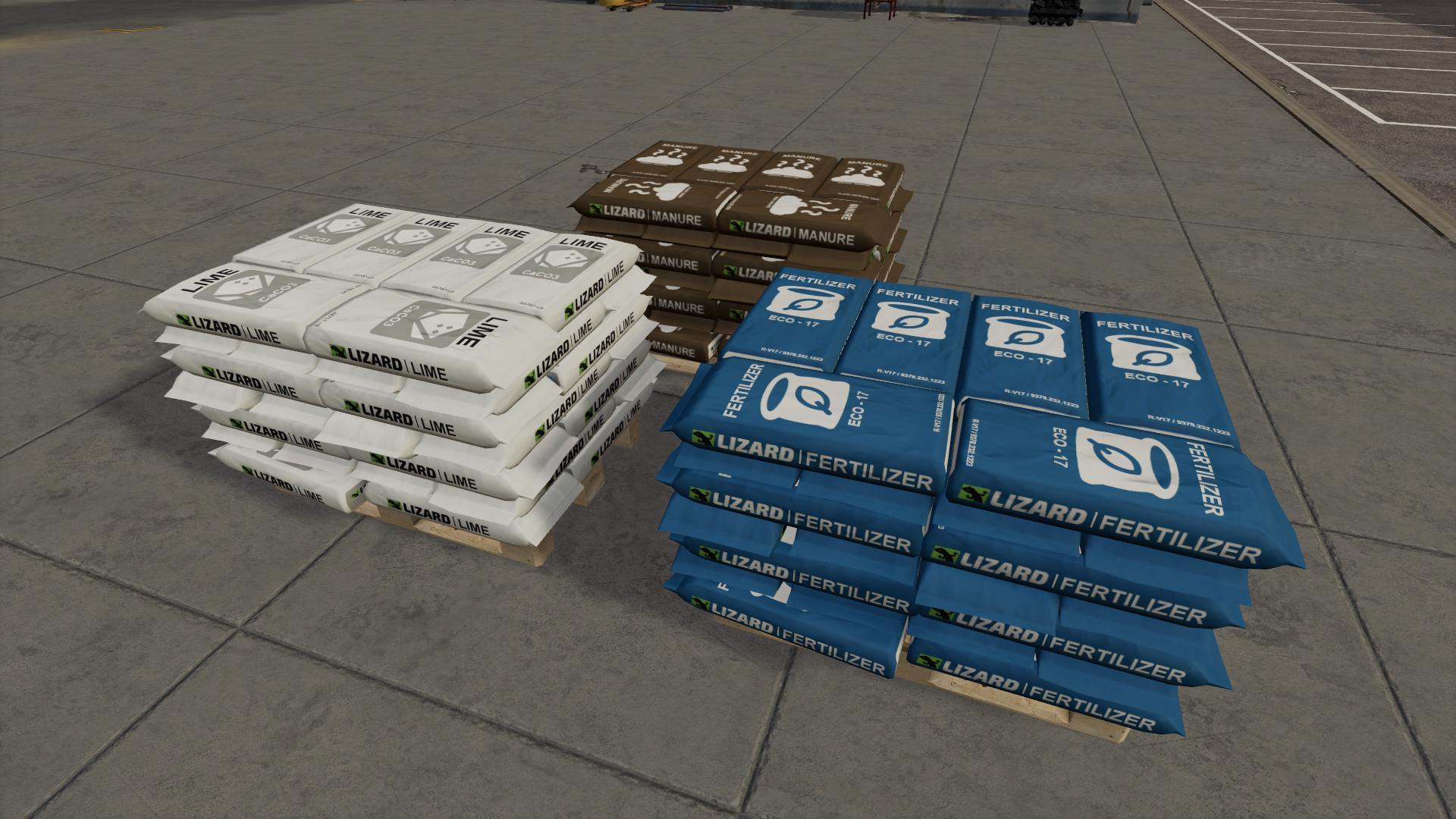 FS19 - Pallets Pack V1.0