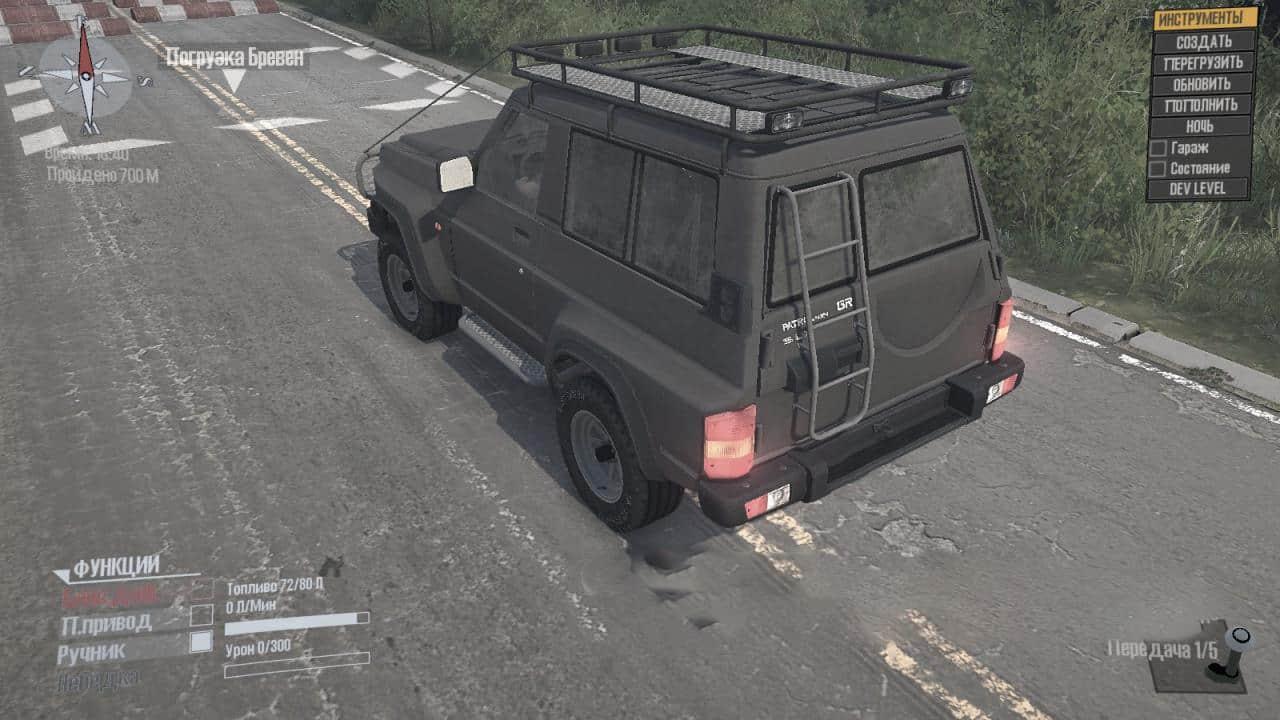 Spintires:Mudrunner - Nissan Patrol V1.0