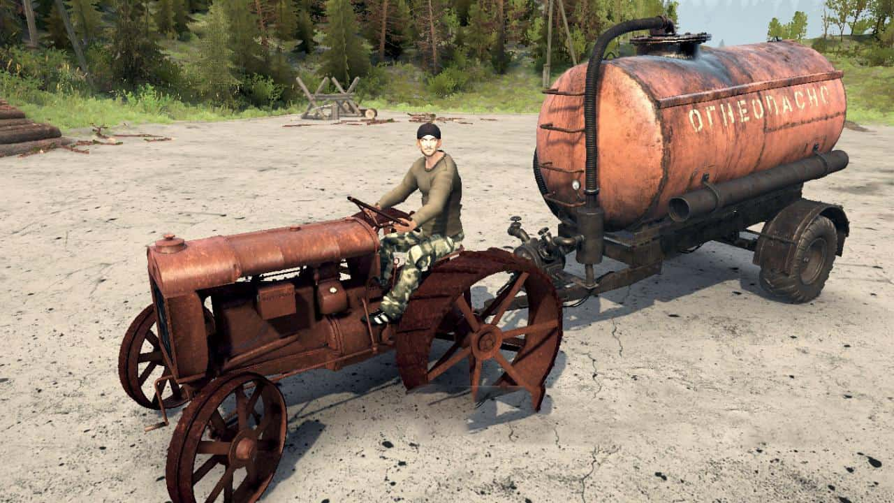 Spintires:Mudrunner - Kolomenets Tractor V1