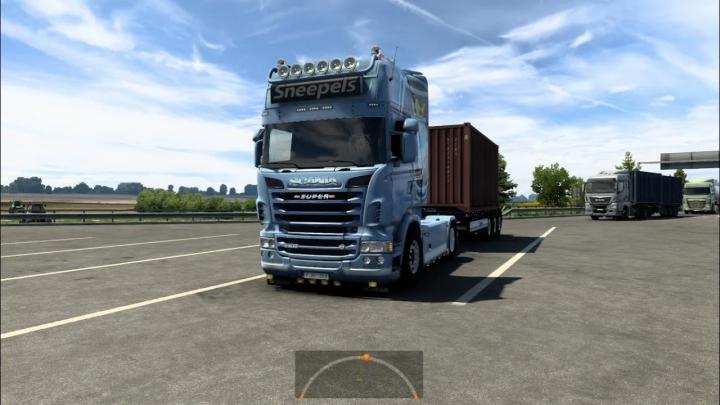 ETS2 - Scania V8 Sneepels Open Pipe V1.0 (1.40.x)