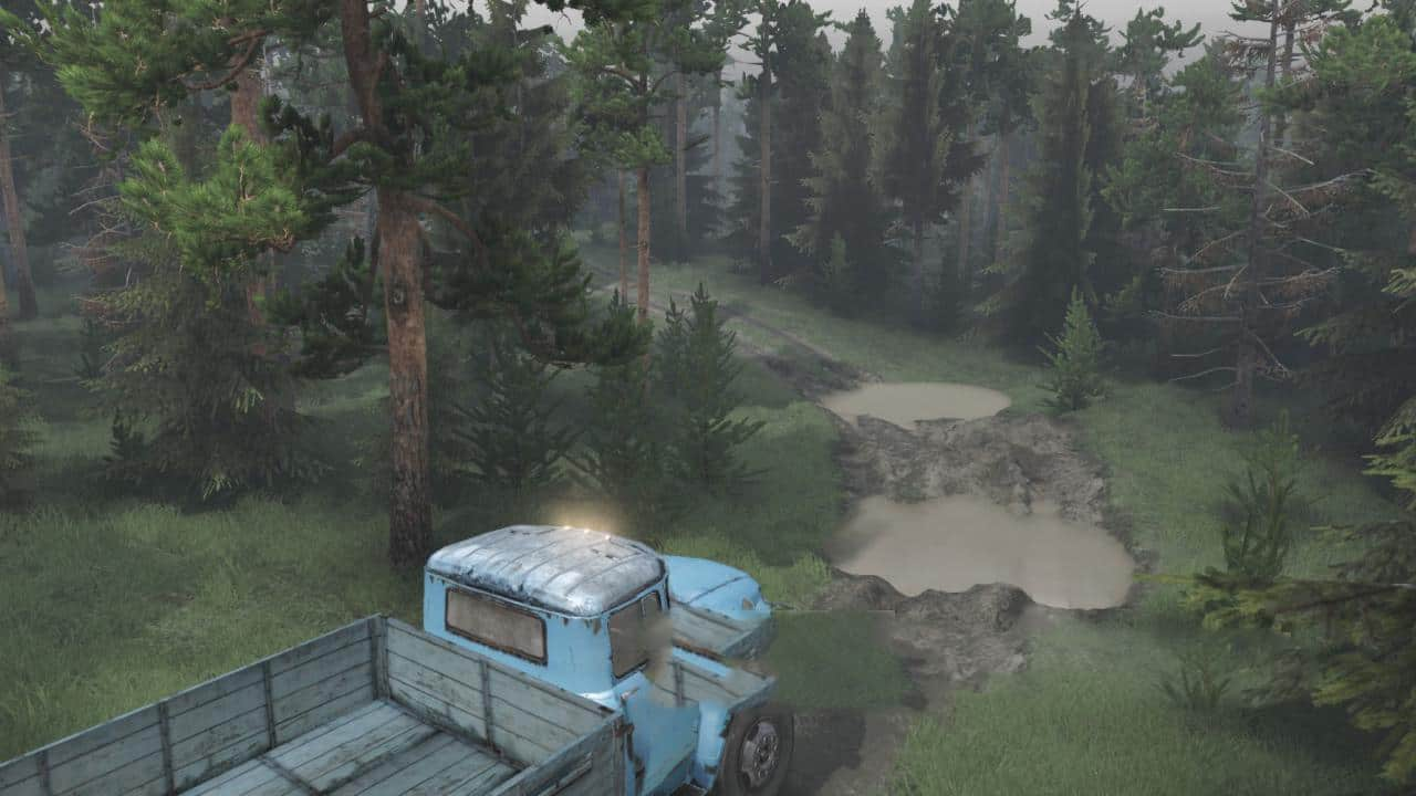 Spintires:Mudrunner - Country Road 2 Map v1.0