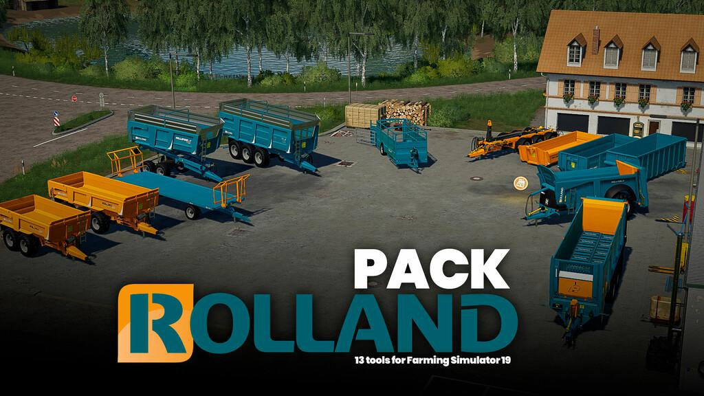 FS19 - Rolland Pack V1.0